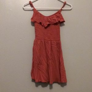Short Pink dress from Aeropostale